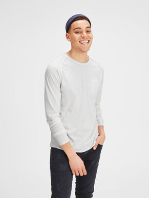 PLAIN LONG-SLEEVED T-SHIRT