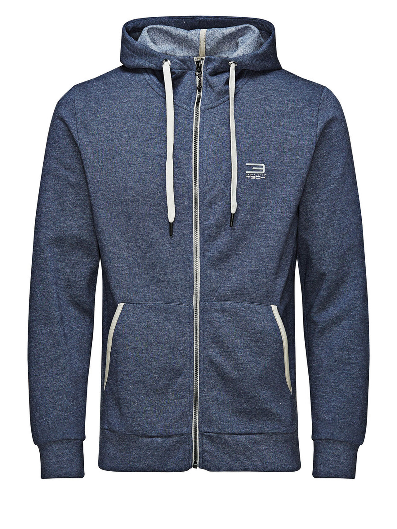 Jack & Jones Tech JJSLIDER Sweatvesten Blauw