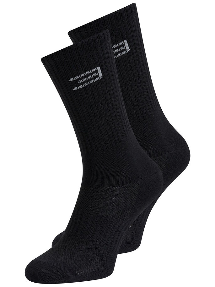 MULTIFUNCTIONAL TRAINING SPORTS SOCKS, Black, large