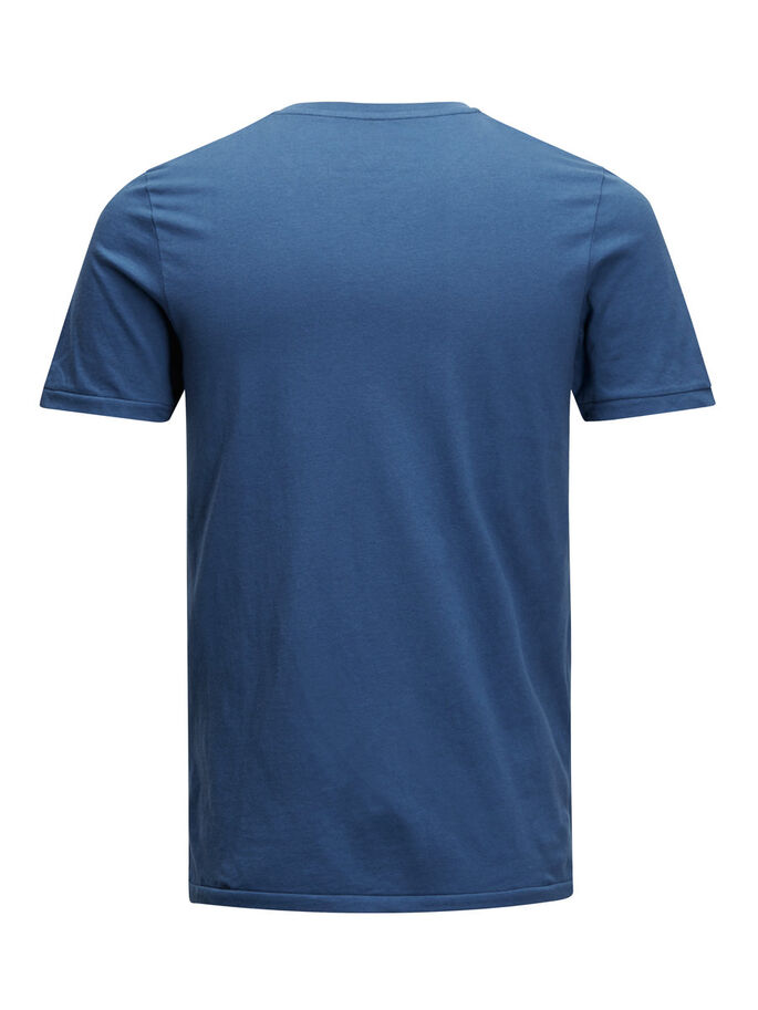 PRINTED T-SHIRT, Ensign Blue, large