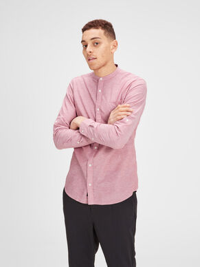LINEN LONG SLEEVED SHIRT