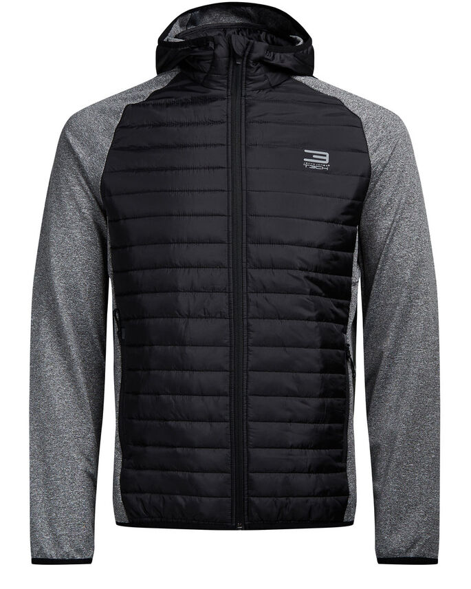 HYBRID JACKET, Grey Melange, large