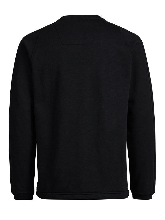 RITSZAK SWEATSHIRT, Black, large