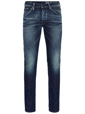 GLEN FOX BL 624 INDIGO KNIT SLIM FIT JEANS