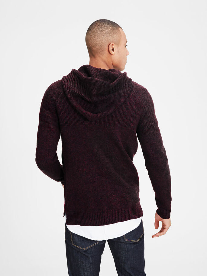 CASUAL KNITTED PULLOVER, Port Royale, large