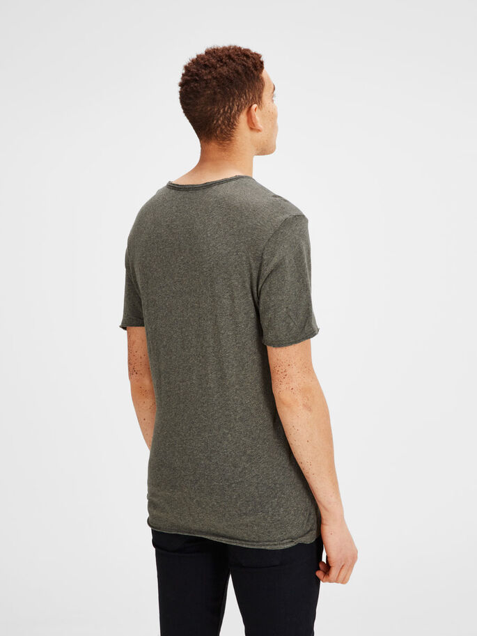 SEMPLICE T-SHIRT, Olive Night, large