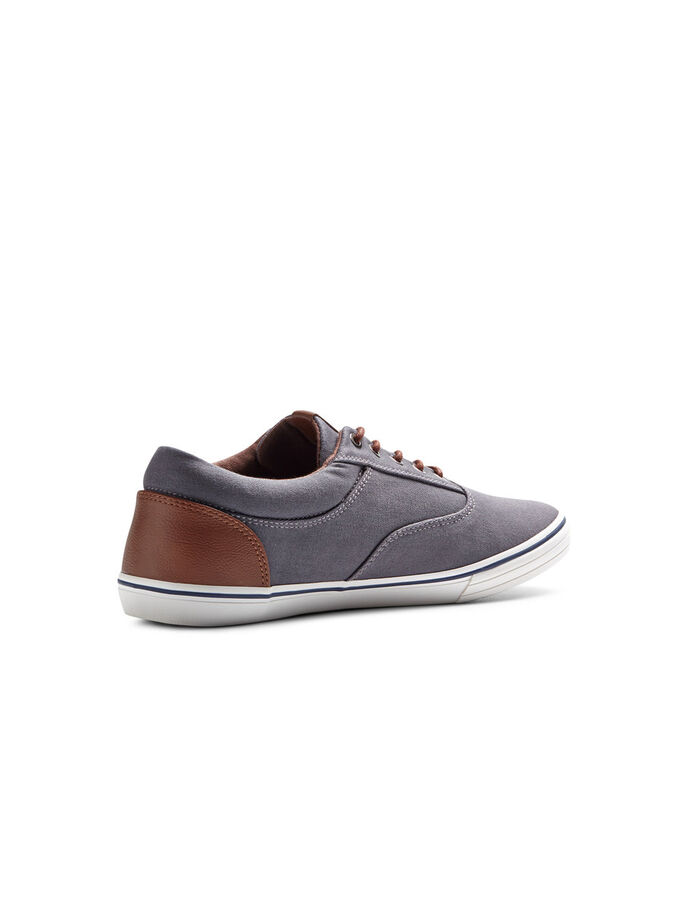 CANVAS TRAINERS, Pewter, large