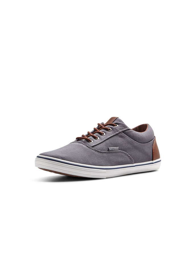 KANVAS SNEAKERS, Pewter, large