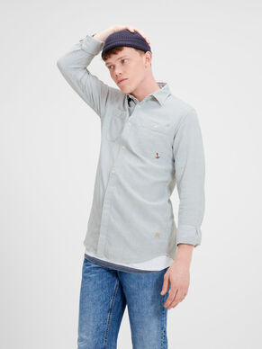 RELAXED LONG SLEEVED SHIRT