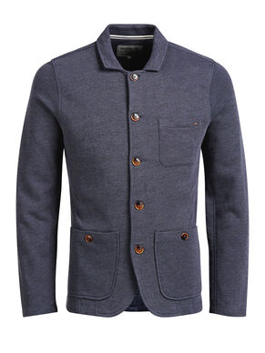 MELANGE SWEAT BLAZER