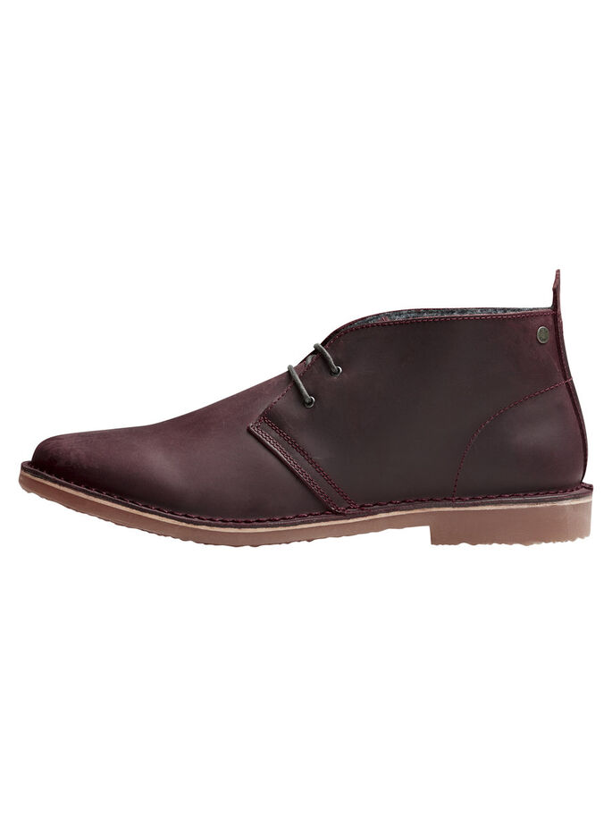 KLASSISKE BOOTS, Oxblood Red, large