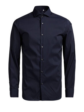 CUTAWAY COLLAR BUSINESS SHIRT