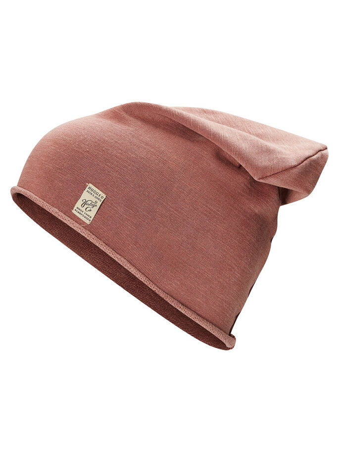 STRUKTUR BEANIE, Fired Brick, large