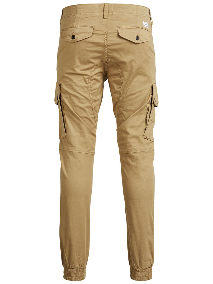 PAUL WARNER AKM 168 CARGO PANTS, Kelp, large