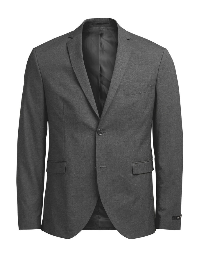 GRAUER BLAZER, Dark Grey, large