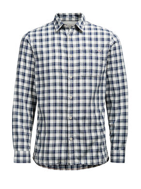PLAID LONG SLEEVED SHIRT