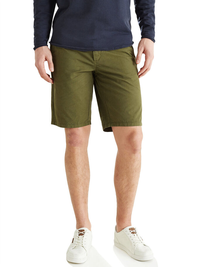 OLIVE NIGHT CHINO-SHORTSIT, Olive Night, large