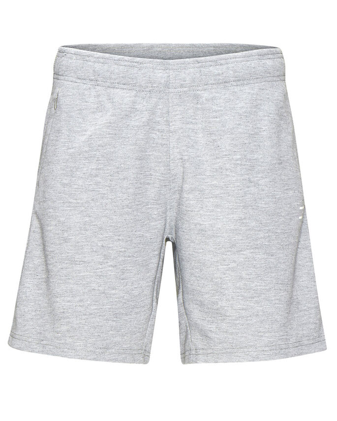 SWEAT SWEAT SHORTS, Light Grey Melange, large
