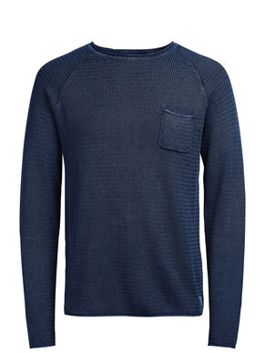 RUGGED KNITTED KNITTED PULLOVER