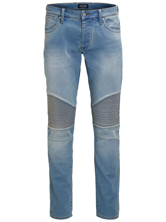 GLENN RYDER GE 10 SLIM FIT-JEANS, Blue Denim, large