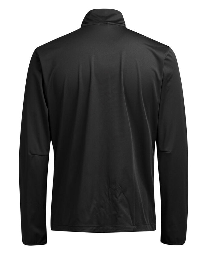 FUNCTIONAL SOFTSHELL JACKET, Black, large
