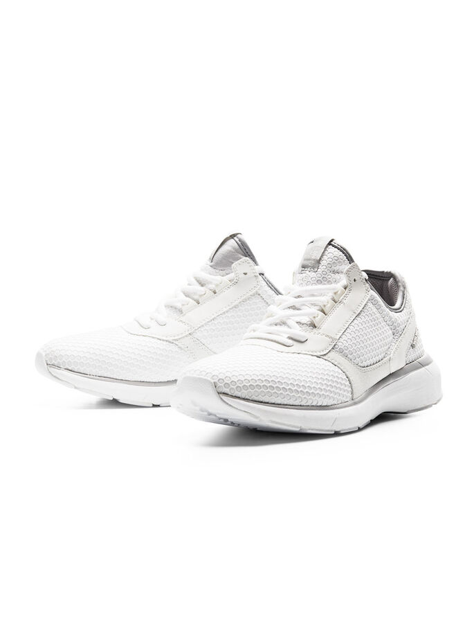 LIGHTWEIGHT SPORTS SHOES, Bright White, large