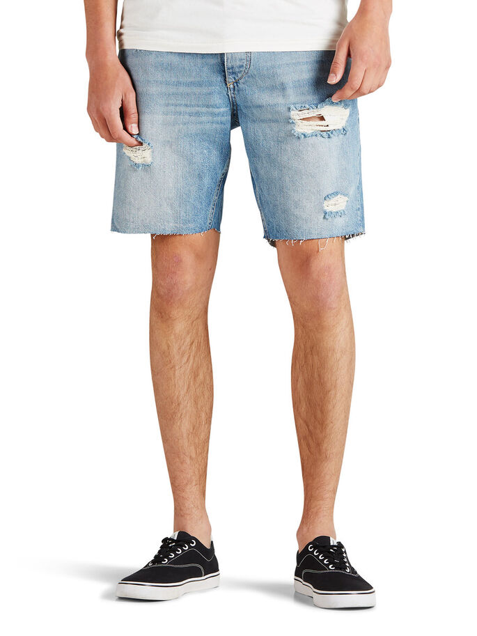 RICK ORIGINAL DENIMSHORTS, Blue Denim, large