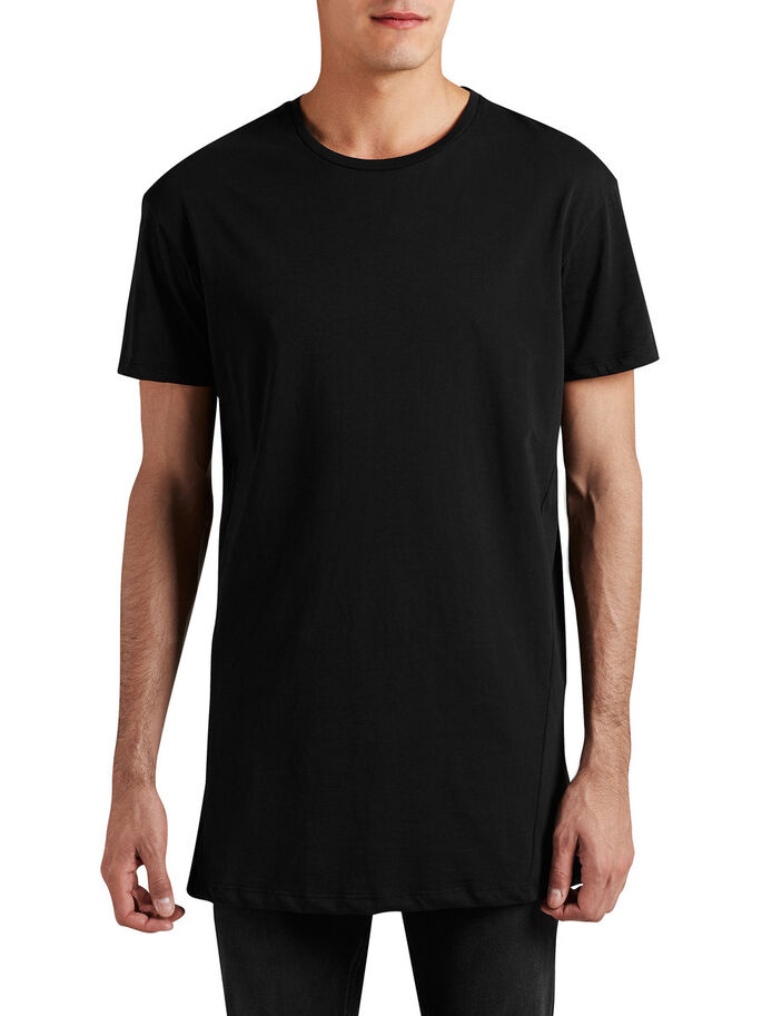 BOX FIT T-SHIRT, Black, large