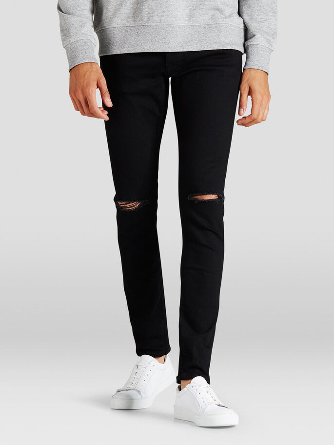 GLENN ORIGINAL AM 109 SLIM FIT JEANS, Black Denim, large
