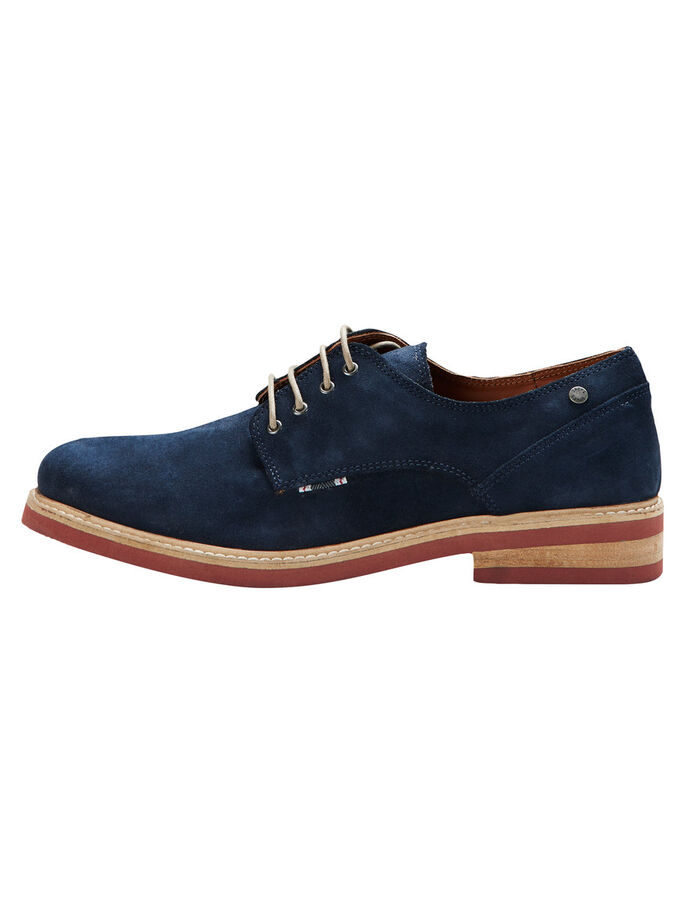 DERBY- SCHUHE, Navy Blazer, large