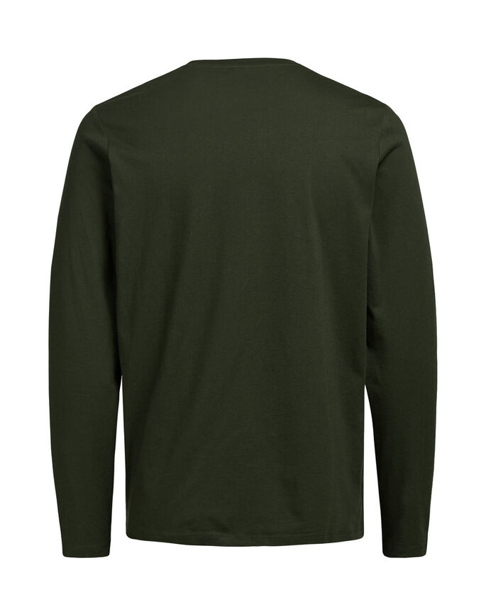 CASUAL LANGÆRMET T-SHIRT, Rosin, large