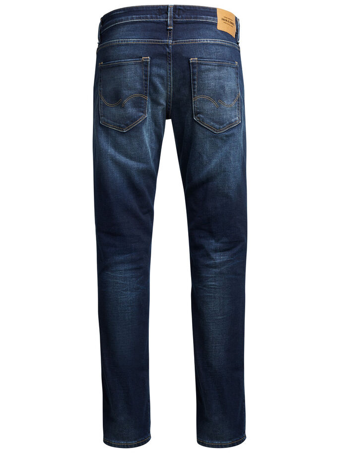MIKE ICON BL 650 JEAN COUPE CONFORT, Blue Denim, large