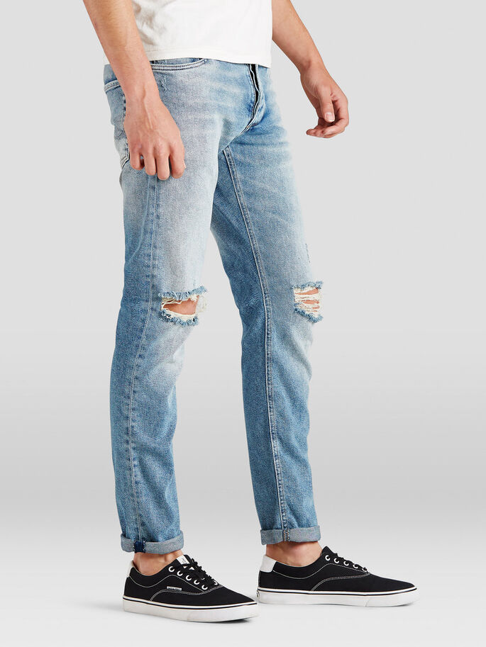 GLENN ORIGINAL JOS 166 SLIM FIT JEANS, Blue Denim, large