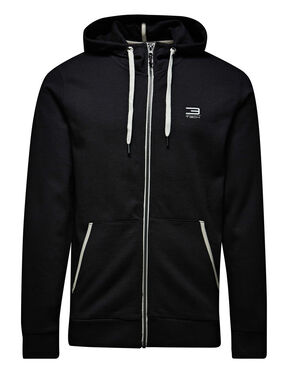 HOODED ZIPPED SWEAT