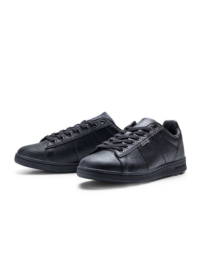 LEDERLOOK SNEAKERS, Anthracite, large