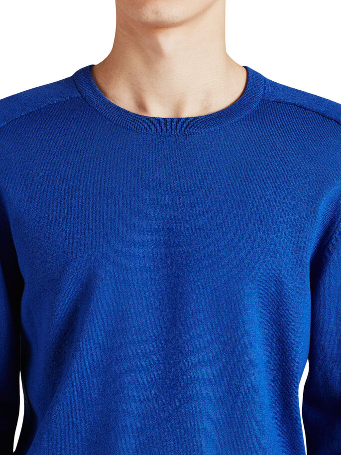 EINFARBIGER PULLOVER, Surf the Web, large