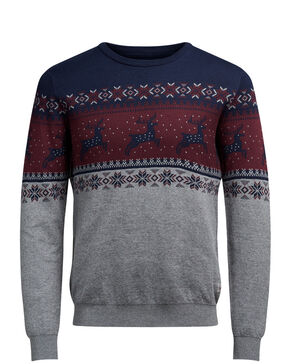 VINTER STRIKKET PULLOVER