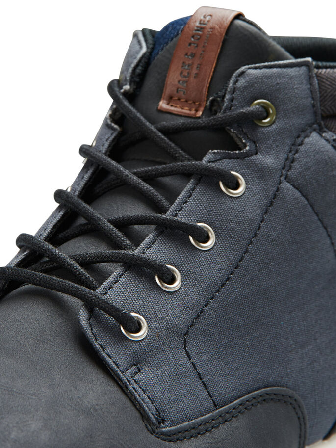 MID-CUT SNEAKERS, Anthracite, large