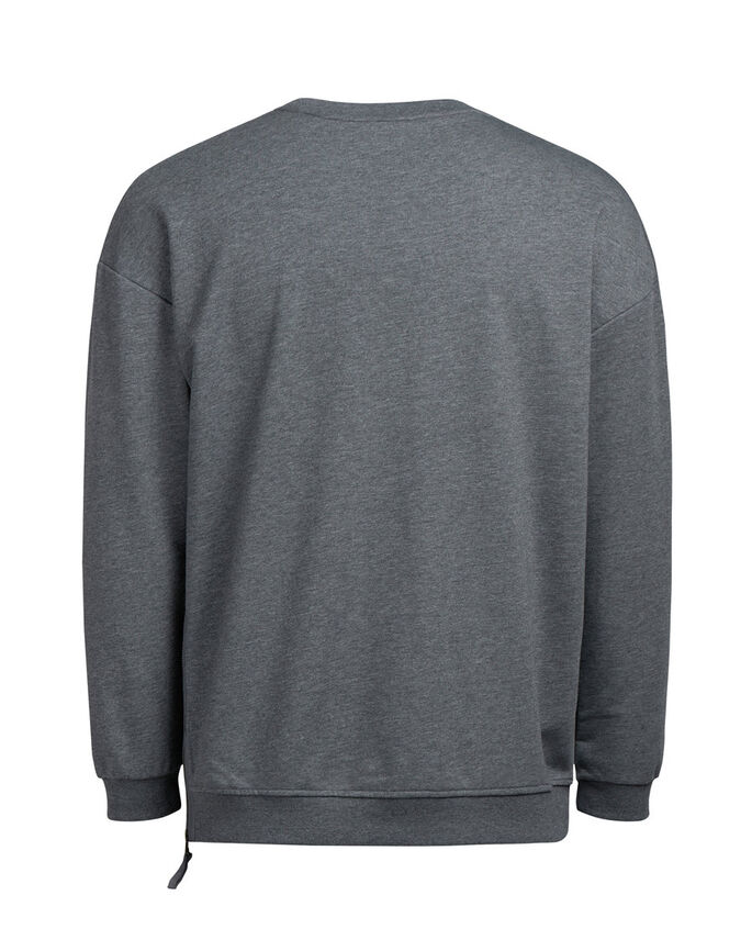 BOX FIT SWEATSHIRT, Raven, large