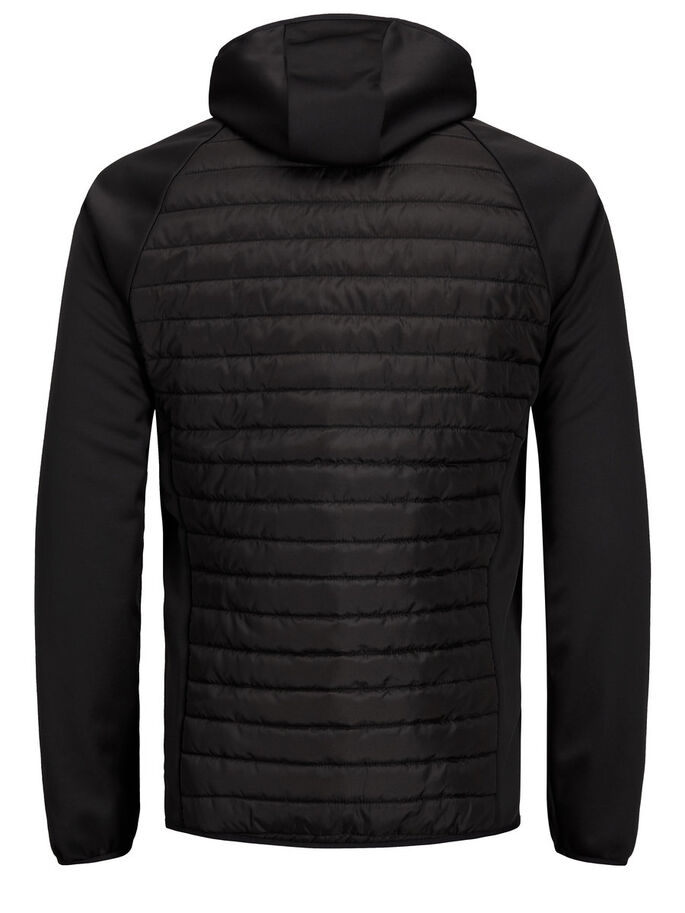 QUILTED JACKET, Black, large