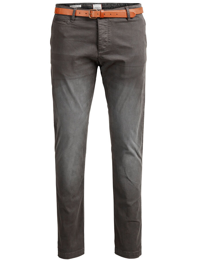 CODY AKM 195 CHINOS, Dark Grey, large