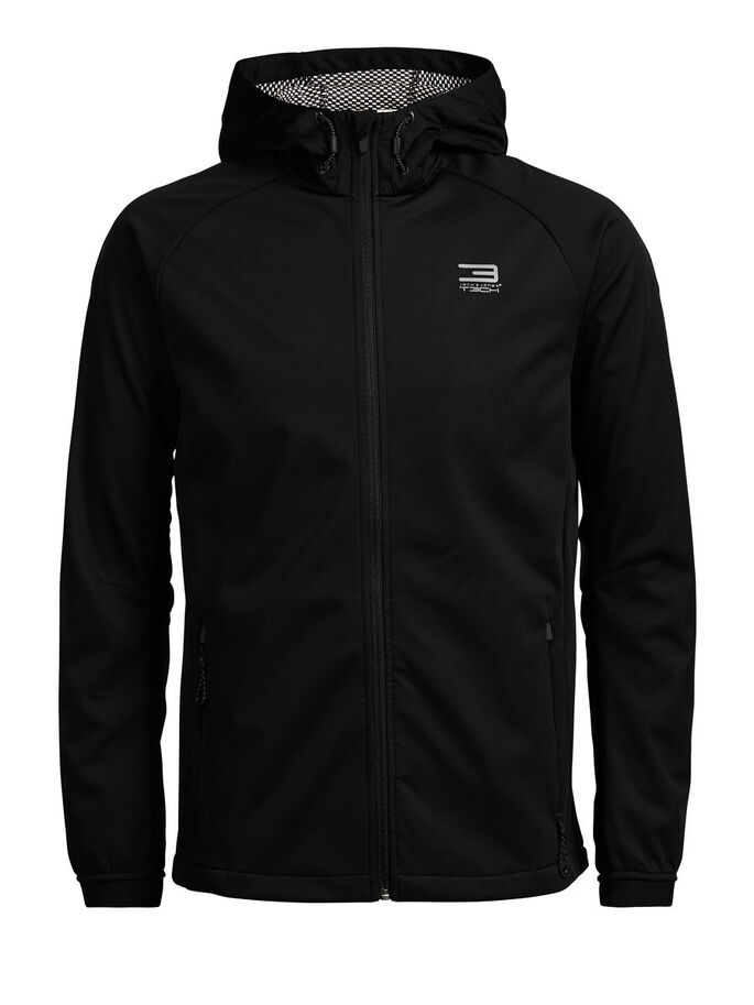 FUNCTIONAL SPORTS JACKET, Black, large