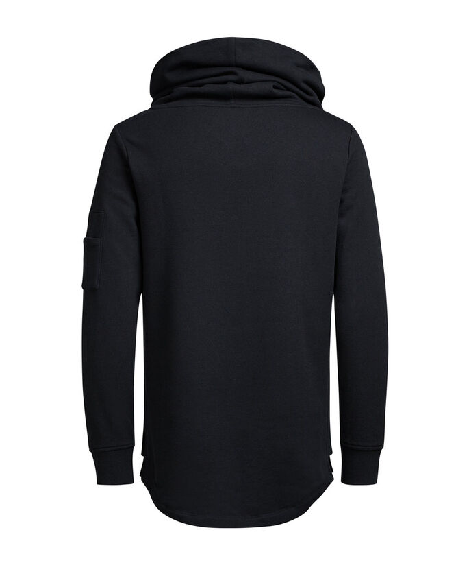 DETALJERAD SWEATSHIRT, Black, large