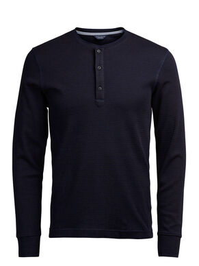 PLAIN SLIM FIT LONG-SLEEVED T-SHIRT
