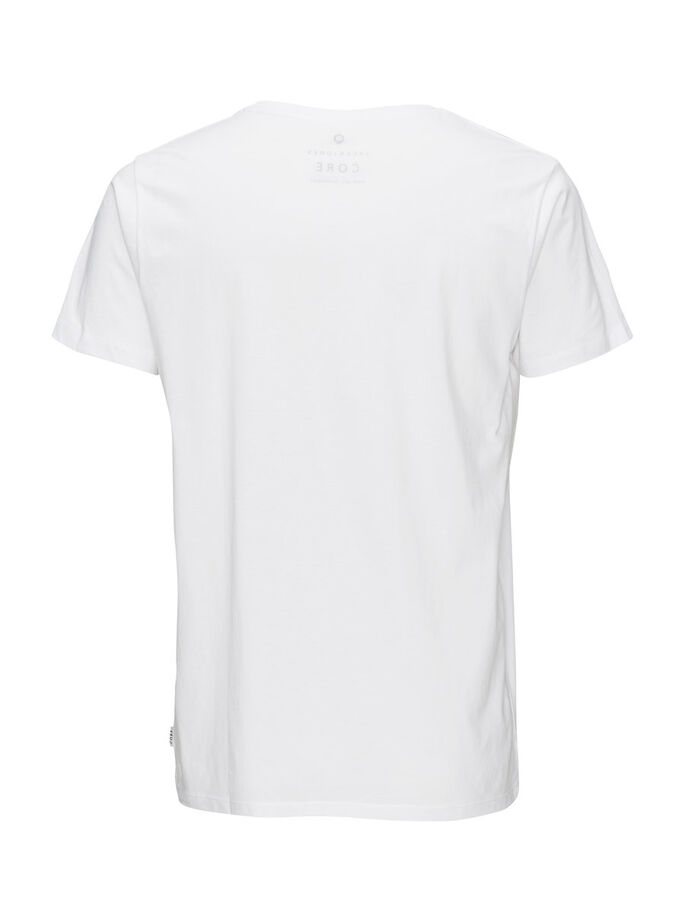SURDIMENSIONNÉ T-SHIRT, White, large