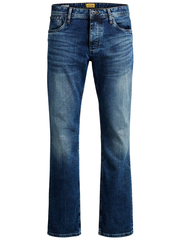 CLARK ORIGINAL JOS 432 REGULAR FIT JEANS, Blue Denim, large