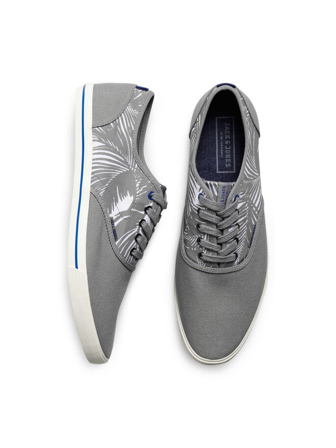 CANVAS SNEAKERS, Frost Gray, large