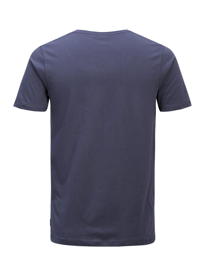 GRAFISK T-SHIRT, Ombre Blue, large