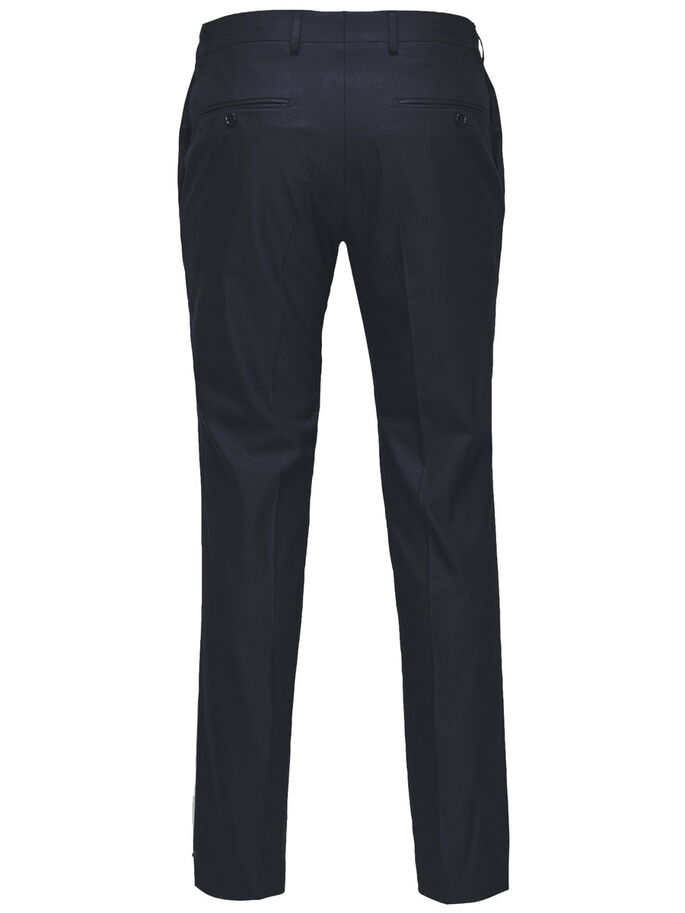 KLASSIEK SLIM FIT BROEK, Dark Navy, large