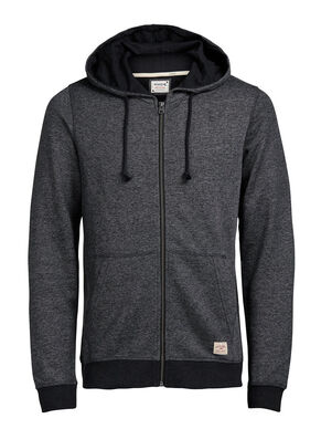 RECYCLÉ ZIPPÉ SWEAT À CAPUCHE